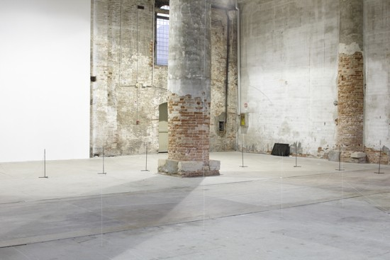 Junya ishigami associates architecture as air study for château la coste 2010 installation view in the arsenale 12th venice architecture biennale